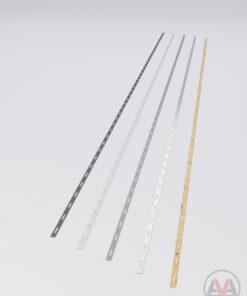 Abdeckleiste aus Aluminium für Diele
